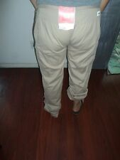 The North Face Daniela Dobby Women's Convertible Pants Chino Khaki Dune Beige 10