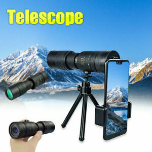 Arctic P9 Military Telescope - 4K 10-300X40mm Travel Hiking &Phone Clip &Tripod