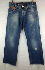 Miss Sixty 'Big Ty' Women's Distressed Boyfriend Style Jeans Size 29