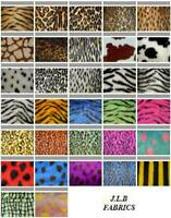 Jacquard Fur Fabric - Multiple Lengths & Colours - R2 Quality