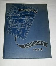 1948 CONNERSVILLE HIGH SCHOOL COHISCAN YEAR BOOK YEARBOOK INDIANA IN ADVERTISING
