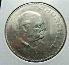Uk Great Britain 1965 Churchill Commemorative coin 38 mm