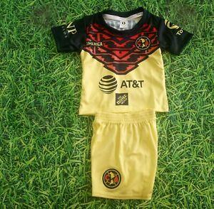 New Club Aguilas DEL America Yellow kids uniform