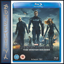 CAPTAIN AMERICA - THE WINTER SOLDIER  ** BRAND NEW BLU-RAY REGION FREE**