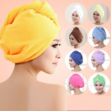 RAPID DRYING HAIR TOWEL Thick Absorbent Shower Cap Super UK Fast FREE SHIPPING