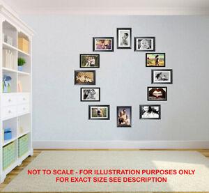 PHOTO FRAME WALL STICKER VINYL KIDS BEDROOM DECAL WALL ART