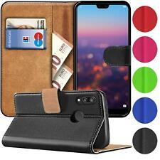 Handy Hülle für Huawei P20 Lite Tasche mit Geldfach Etui Klapphülle Flip Cover