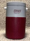 VINTAGE Coleman PolyLite Water Jug Beverage Cooler 1 Gallon Handle 5591a