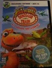 Dinosaur Train: All Aboard For Learning Educational Software Ages 3 To 6 Pbs