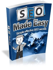 SEO made easy &10 free internet marketing Ebooks Resell rights Pdf free shipping
