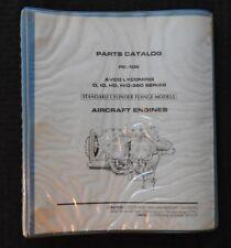 1971-85 AVCO LYCOMING O IO HO HIO-360 AIRCRAFT AIRPLANE ENGINE PARTS CATALOG