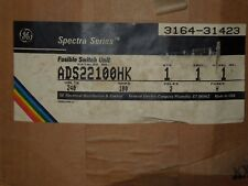GE ADS22100HK 100A 240V 1PH 2P Fusible Switch Expansion Kit New Surplus