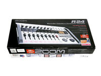 ZOOM R24 Multitrack Recorder New from Japan DHL Fast Shipping Tracking Free Ship