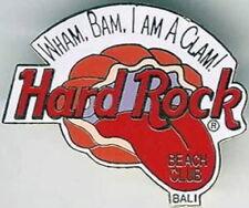 """Hard Rock Hotel BALI Beach Club 1998 """"Wham, Bam, I am a Clam!"""" PIN - HRC #690"""