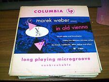 "Marek Weber-In Old Vienna-Columbia-CL 6034-10"" LP-Vinyl Record-VG+"