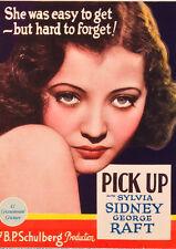 Pick-up 1933 DVD Sylvia Sidney, George Raft, Lillian Bond