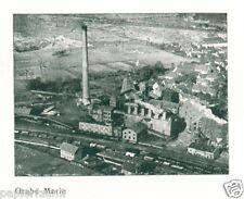 Brikett Vertrieb Erfurt XL Reklame 1927 Kohle Theißen Grube Paul Marie Riebeck