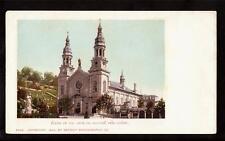 1901 church anne de beaupre quebec canada postcard