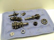 #4082 Honda TL125 K2 Trials Transmission & Misc. Gears / Shift Drum & Forks