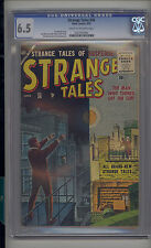 Strange Tales #36 CGC 6.5 FN+ Unrestored Atlas Marvel Scarce CR/OW Pages