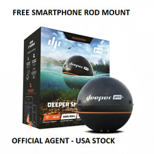 Deeper Smart Sonar Pro+ Pro Plus WIFI GPS - Free Deeper Smart Phone Rod Mount