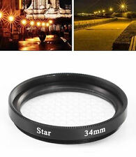 NEW 30mm 8PT 8 Point Star Filter For 30 mm Nikon Canon Camera Lens