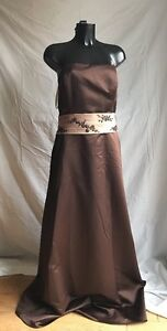 Party Prom Bridal Cocktail Dress Size 22 Colour Chocolate By And Expressions
