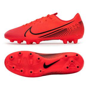 Nike Jr. Mercurial Vapor 13 HG Football Shoes Soccer Cleats Red BQ5504-606