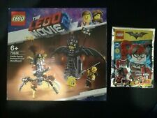 LOT LEGO THE MOVIE 2 70836 + LEGO BATMAN THE MOVIE HARLEY QUINN 211804 NEUF