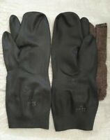USSR/SOVIET army uniform BZ-1M gloves three-finge (OZK) 100% ORIGINAL (NEW!)