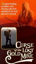 Curse of the Lost Gold Mine (1995) VHS docu-drama legend of Indian Slumach RARE
