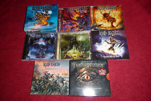 10x CD METAL: ICED EARTH + DEMONS & WIZARDS