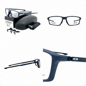 Oakley Chamber OX8138-0555 Universe Blue w/Demo Lenses Eyeglasses 55-16-133mm