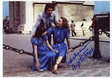 AUTOGRAPHE SUR PHOTO de Brigitte FOSSEY  (signed in person)
