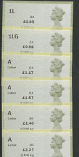 65p to £2.27 SCARCE 2017 RATES Undated Machin NCR 2017 Open value POST & GO ov