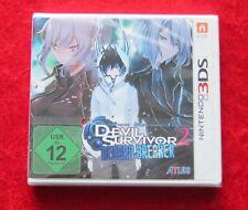 Devil Survivor 2 Record Breaker, Nintendo 3D 3DS Spiel, Neu, deutsche Version