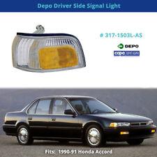 Depo 317-1503L-AS Driver Side Signal Light (Fits: Honda Accord)