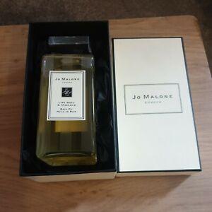 JO MALONE LIME BASIL & MANDARIN BATH OIL 200ML BRAND NEW SEALED & BOXED GIFT BAG