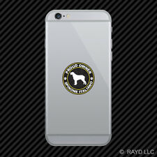 Proud Owner Spinone Italiano Cell Phone Sticker Mobile Die Cut