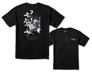 New Primitive Apparel Naruto Serpent Black Mens Sport S/S T Shirt RPRM-17