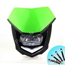 Head Light Dual Sport Lamp Dirt Bike For Kawasaki KLX140 L 110 KLX140L 125 M 100