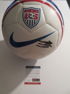 CLINT DEMPSEY SIGNED 2014 WORLD CUP SOCCER BALL PSA/DNA AA19446 USA SOCCER USMNT