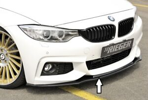 Rieger 88086 BMW F32/F33 4series Front Spoiler Lip for M-Technic Front Bumper