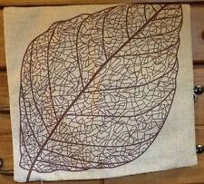 "Vintage ""Leaf"" Throw Pillow Case. NEW!"