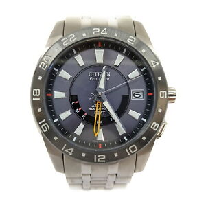 Citizen Watch  Ref.H116-T012051 Attesa GMT operates normally 1134393