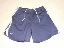 Womens size medium M Under Armour shorts blue