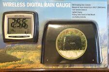 New - Sealed - Acurite Wireless Digital Self Emptying Rain Gauge 100' Remote