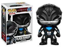 Funko - POP Movies: Power Rangers - Black Ranger #396 Vinyl Action Figure New