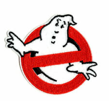 GHOSTBUSTERS Iron on / Sew on Patch Embroidered Badge Motif Cartoon Ghost PT49