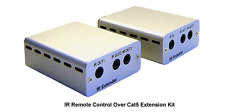 IR Remote Over Cat5 Cat6 Extender Kit For Controlling 5 Home A/V Devices